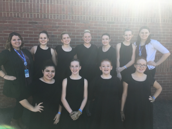 Apollo High School JV Winter Guard