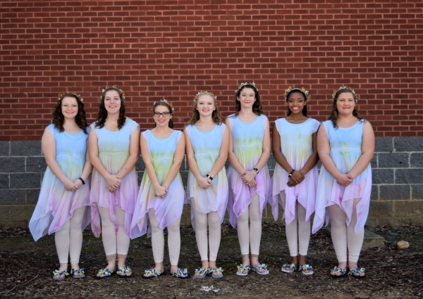 Buckhorn HS JV Winter Guard