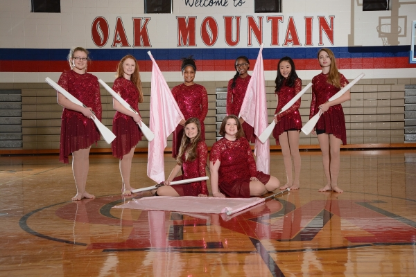 Oak Mountain JV Winter Guard