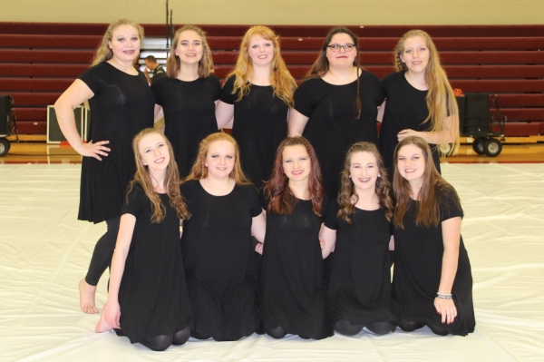 McCracken County HS Winter Guard