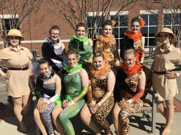 Warren County HS Winter Guard