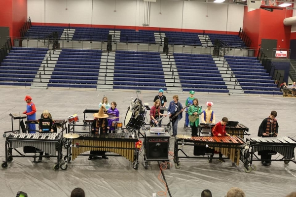 Discovery Middle School Percussion Ensemble
