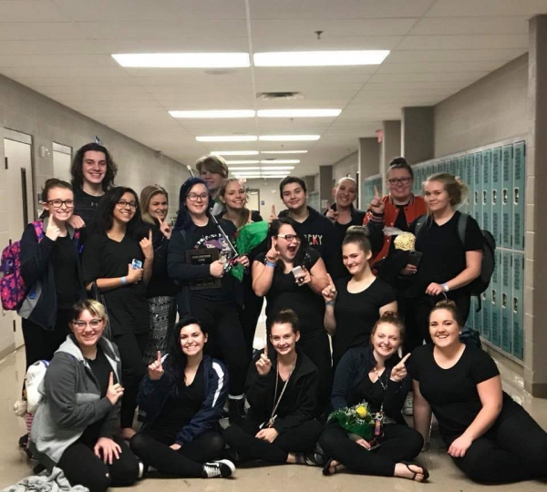 Grayson County HS Winterguard