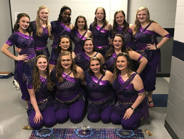 Thompson HS Varsity Winter Guard