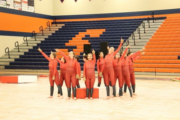 Daviess County JV Winter Guard