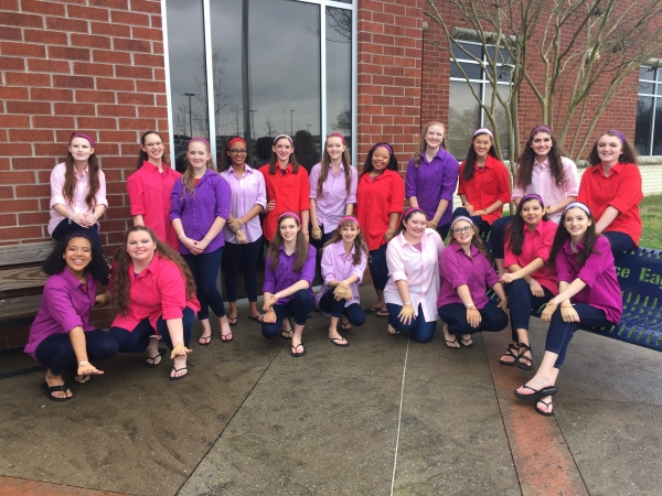 Sparkman JV Winter Guard