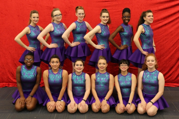 Bob Jones JV Winter Guard