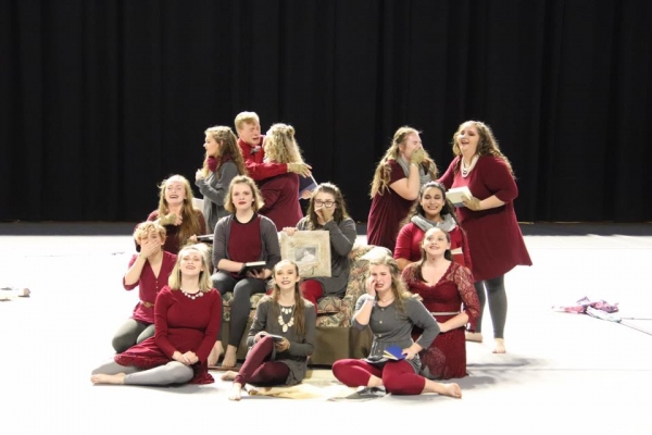 Hart County HS Winter Guard
