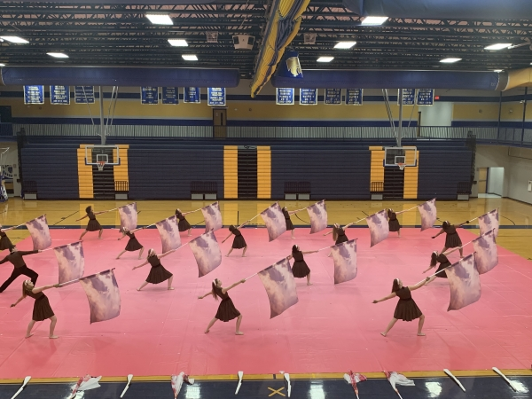 Wilson Central Winter Guard