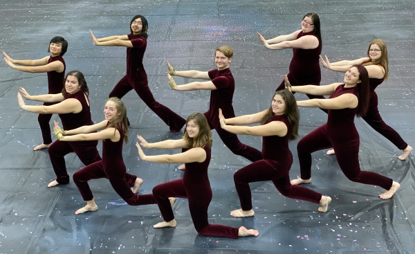 Hillwood High School Winter Guard