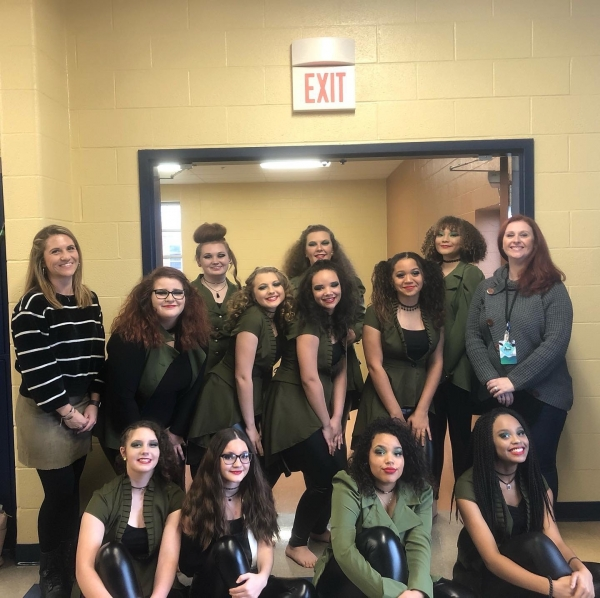 Giles County HS Winter Guard