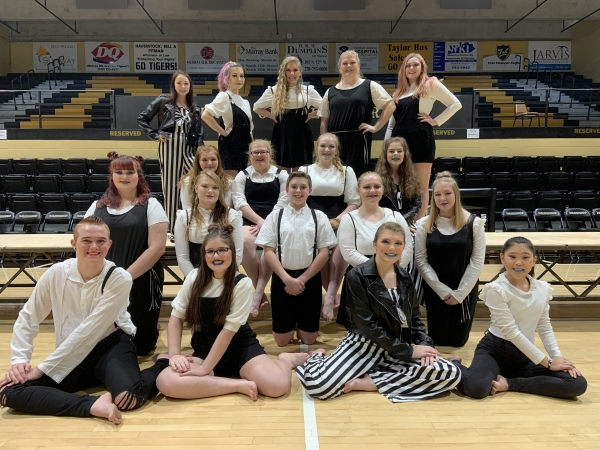Murray HS Winter Guard