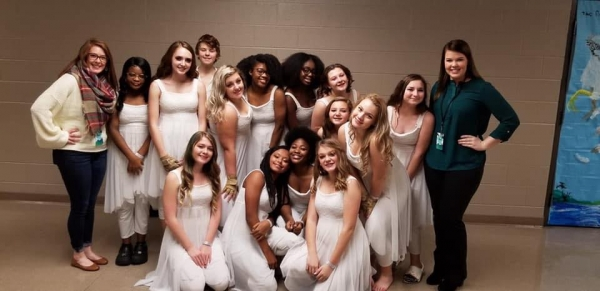 Christian County High School Winterguard