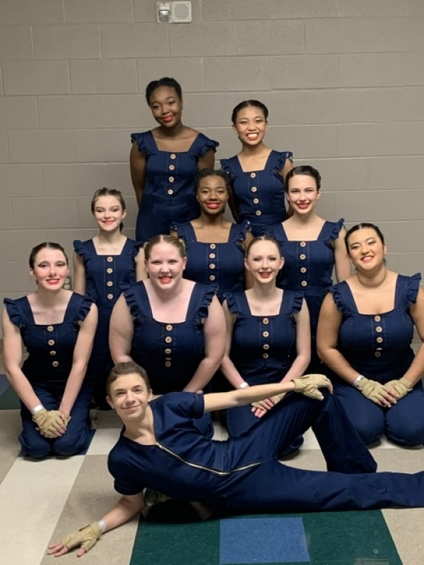 John Overton HS Winter Guard