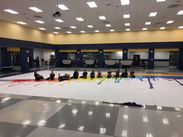 Buckhorn HS Winter Guard