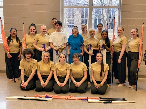 Smith County HS Winter Guard