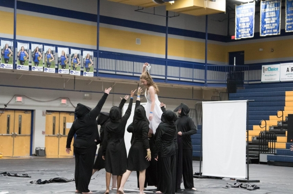 Watertown High School Winterguard