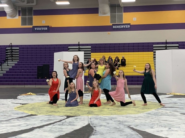 Macon County HS Winter Guard