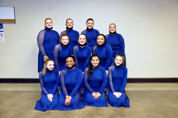 Helena HS JV Winter Guard
