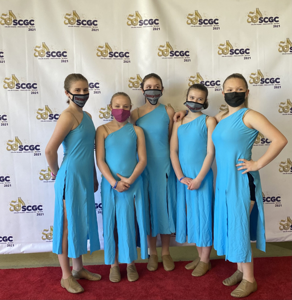 Edmonson County Cadet Winter Guard